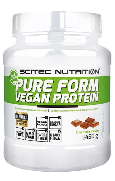 100% Vegan Protein 450 grs. Chocolate