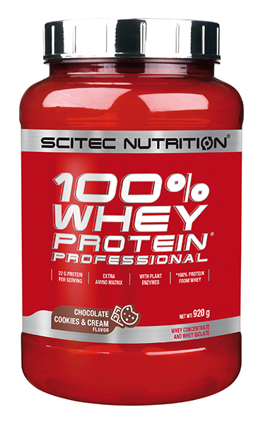 100% Whey Protein Professional 920 grs Chocolate Cookies