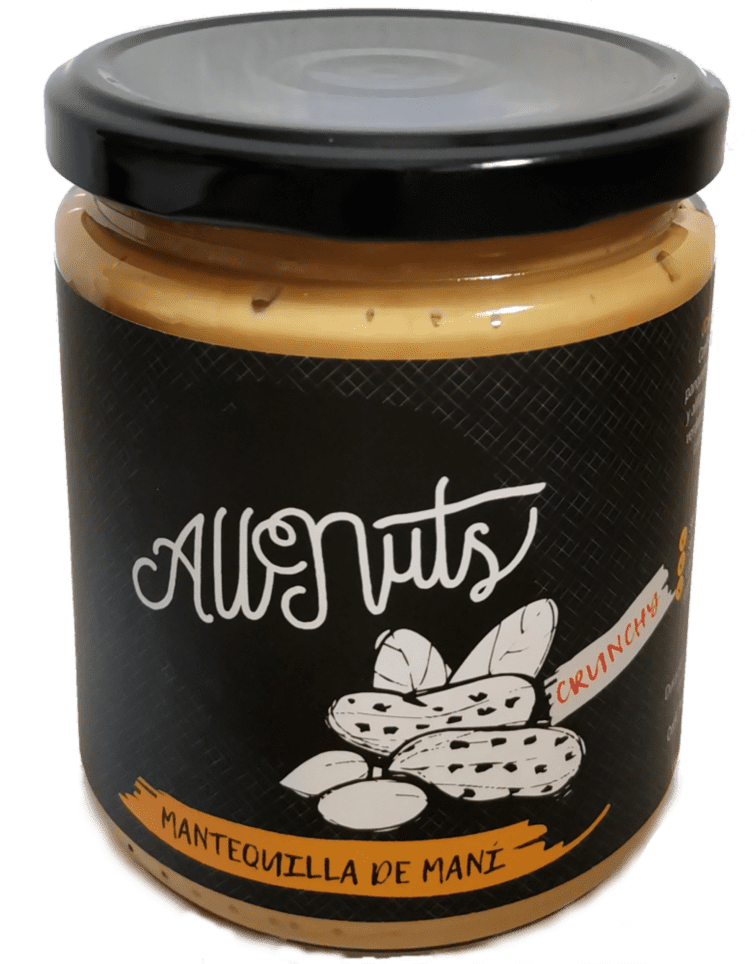 Mantequilla de Maní Crunchy 450 grs.