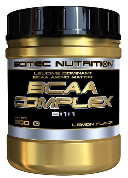 BCAA Complex 300 grs. Sabor limón