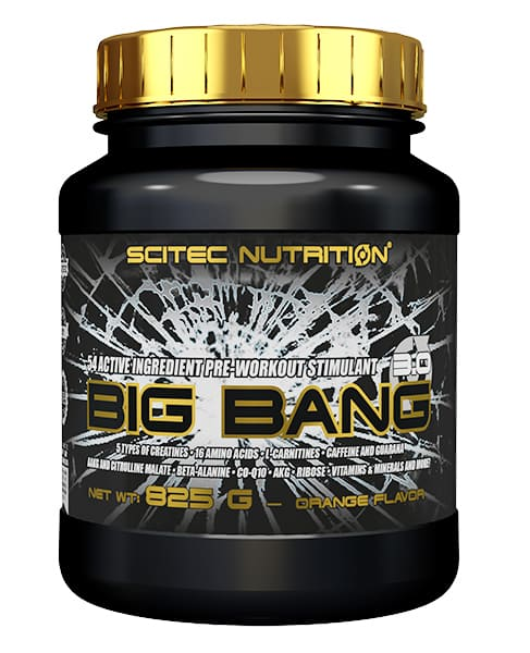 Big Bang 825 grs. sabor Naranja