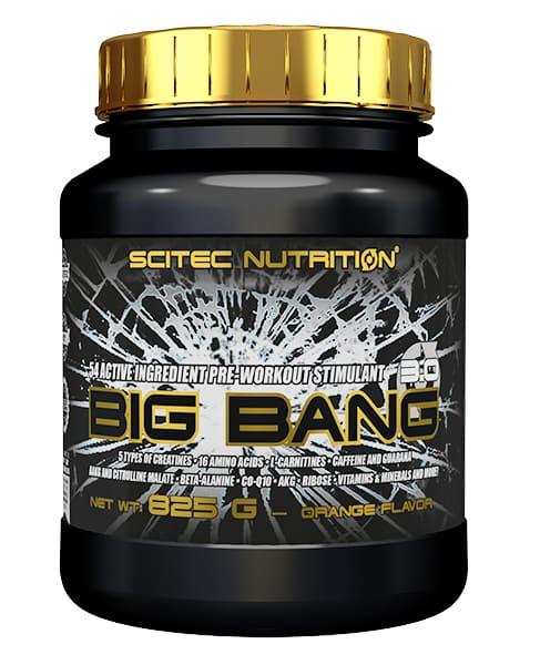 Big Bang 825 grs. sabor Naranja