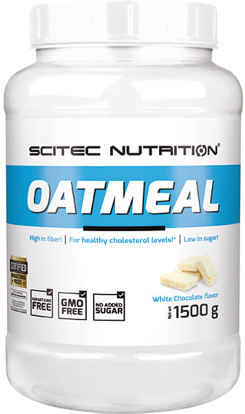 Oatmeal 1500 gr White Chocolate