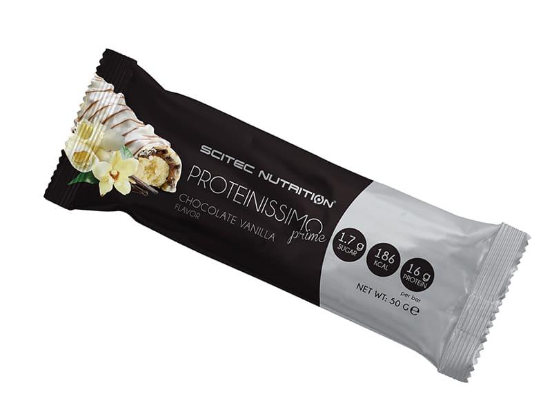 Caja de Barras Proteinissimo Prime Chocolate Vainilla (24 unid.)